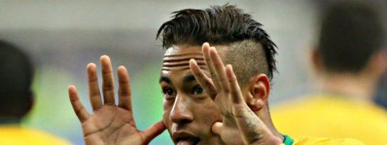 Neymar da el susto pero estará ante Uruguay