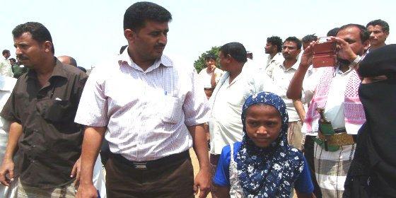 La niña de 8 años a la que dieron por muerta en su noche de bodas