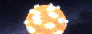 [VÍDEO INÉDITO] La explosión de una estrella a 1.200 millones años luz