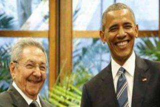 Un sádico Raúl Castro se mofa de los presos políticos cubanos en las narices de Barack Obama