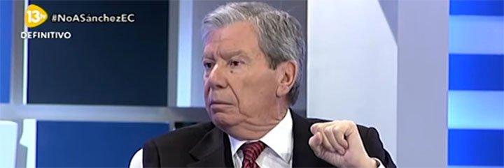"""Corcuera sale a defender en tromba la historia del PSOE de los insultos de Iglesias: """"Esta criatura tiene que sonarse los mocos para hablar de Felipe González"""""""