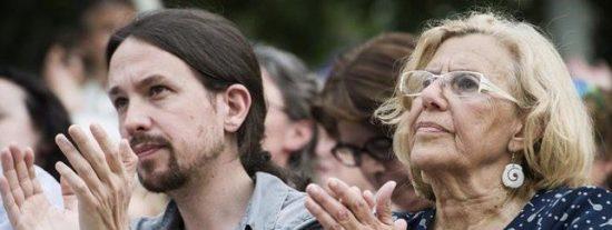 Podemos cae en Madrid de segunda a cuarta fuerza política