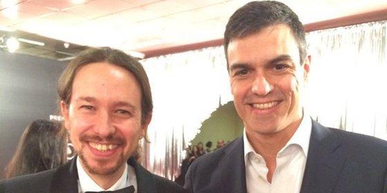 Falsas expectativas sobre la reunión de Pedro Sánchez y Pablo Manuel Iglesias