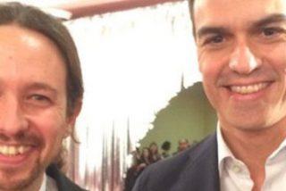 Pablo Iglesias y Pedro Sánchez se citan por Whatsapp para montar su 'Gobierno Frankestein'