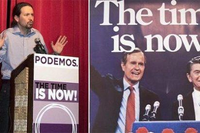 No sólo le plagia las gracietas al 'Gorila Rojo': ahora también a sus enemigos Bush y Reagan