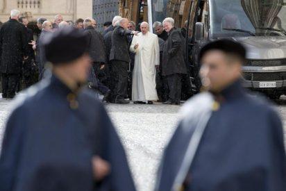 El Papa y la Curia se van de ejercicios