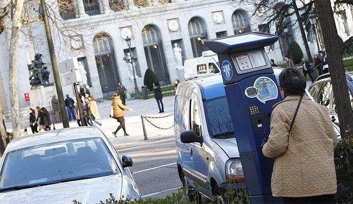 Barcelona es hasta 10 veces más cara que Zamora para aparcar