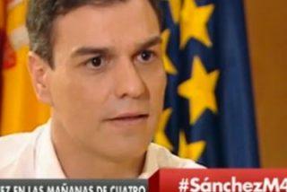 """Pedro Sánchez se echa en los brazos de Iglesias: """"No me cierro a que sea Vicepresidente"""""""