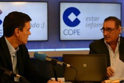 """Herrera se ceba con Sánchez por humillarse ante Tsipras: """"¡Qué manera de hacer el ridículo, no se le ocurre ni al que asó la manteca!"""""""