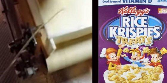 [VÍDEO SIN CENSURA] El empleado de Kellogg's que se mea a mala leche en la cadena de producción