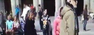 Así defiende el profesor jubilado a las mendigas de la borracha horda del PSV