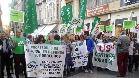 Los profesores de Religión de Andalucía dan un mes de plazo a la Junta para debatir su futuro