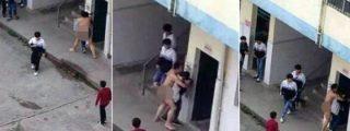 El profesor que se desnuda en pleno recreo y trata de violar a una alumna