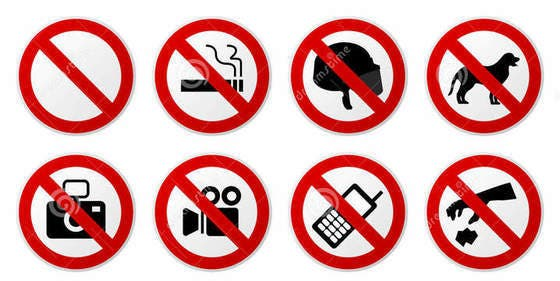 Las 10 prohibiciones más insólitas que aplica la autoridad incompetente en varios rincones del mundo