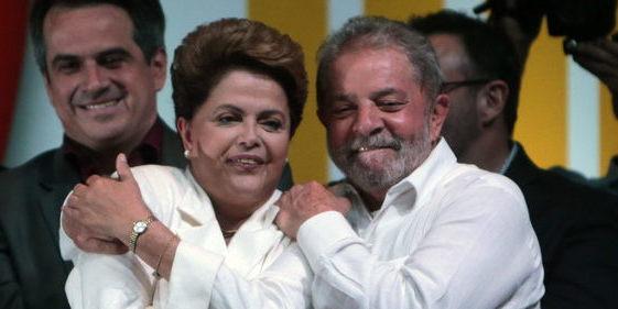 Rousseff nombra ministro a Lula, acusado de enriquecimiento ilícito, blanqueo de dinero y falsificación