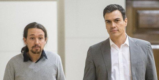 Pedro Sánchez intenta un pacto 'contra natura' y sigue ignorando al PP