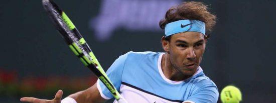 Rafa Nadal se venga de Fernando Verdasco y accede a octavos de final en Indian Wells