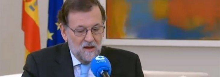 """Rajoy no se mueve ni un centímetro: """"No haremos presidente a Sánchez para que deroge todo lo que hicimos"""""""