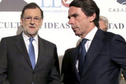 Rajoy y Aznar ni se dirigen la mirada en el homenaje a Vargas Llosa
