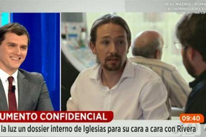 """Rivera: """"A Iglesias le gusta la escenificación parlamentaria, me recuerda a asambleas como la de Venezuela"""""""