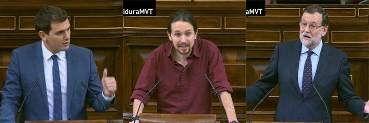 """El zasca de Rivera a Iglesias: """"Usted no quiere un gobierno a la valenciana, lo que quiere es un gobierno de traca"""""""
