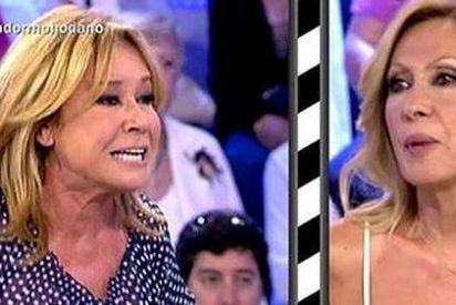 Rosa Benito no aguanta la presión tras un sucio encontronazo en directo con Mila Ximénez