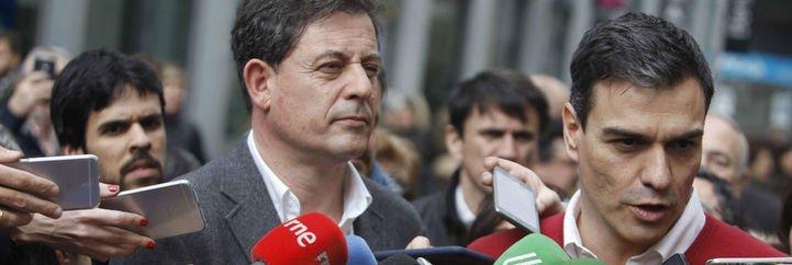 Pedro Sánchez provoca a Albert Rivera fotografiándose con José Ramón Gómez Besteiro, su imputado más VIP