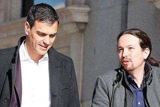 """Mayte Alcaraz se carcajea del paseo de Sánchez e Iglesias: """"Eran el remedo de un vídeoclip de El Corte Inglés"""""""