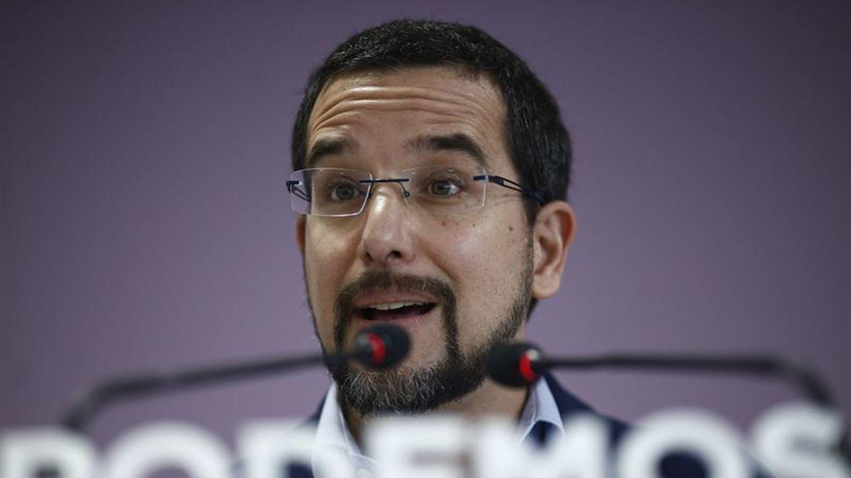 """Sergio Pascual se muerde la lengua y achaca su cese en Podemos a """"desavenencias"""" con Pablo Iglesias"""