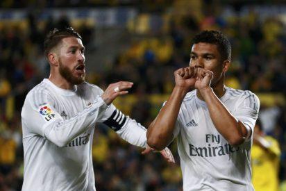 El Real Madrid de Zidane saca tres puntos de vergüenza en Las Palmas