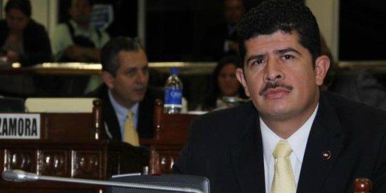 El exdiputado masturbándose en pleno Parlamento de El Salvador