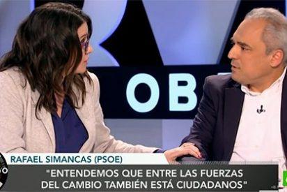 """La estrategia socialista de querer 'carne y pescado': """"No son cuernos, queremos estar a la vez con Ciudadanos y con Podemos"""""""