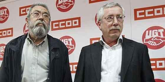 Los sindicatos están, desafortunadamente, de capa caída en España