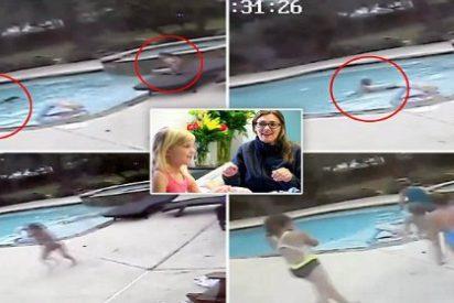 La valiente niña de 5 años que salva a su madre de morir ahogada
