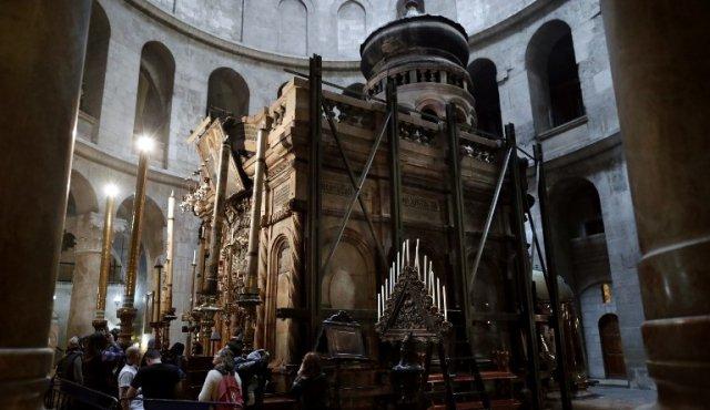 Se restaurará la tumba de Cristo