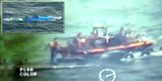 Así pescan un submarino con 6 toneladas de cocaína en la costa panameña