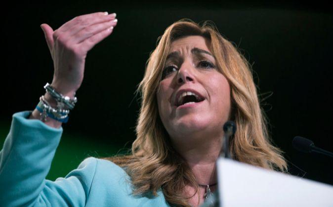 "La socialista Susana Díaz tacha de ""indecente"" a Pablo Iglesias"