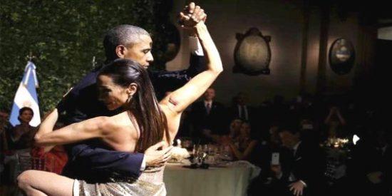 El tango 'cool' que se ha marcado Obama a lo Valentino en Argentina