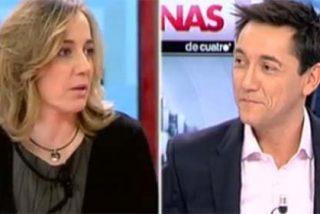A Javier Ruiz se le rebela Tania Sánchez recordando su época de reina de las tertulias
