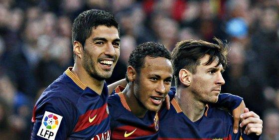 """Leo Messi: """"No creo que el Barça dependa del tridente"""""""