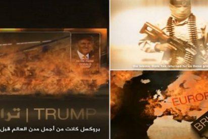 [VÍDEO] El ISIS hace arder a Donald Trump para celebrar los atentados