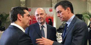 """Ignacio Camacho pone en su sitio a Pedro Sánchez: """"Ese es su sentido de Estado, elegir como alcahuete de sus pretensiones a Tsipras"""""""