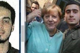 ¿Se hizo Angela Merkel un selfie con uno de los terroristas de Bruselas creyendo que era un refugiado?