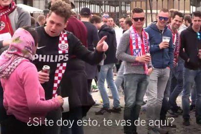 """Las mendigas rumanas víctimas de los hinchas del PSV: """"Ojalá nos humillen así todos los días"""""""