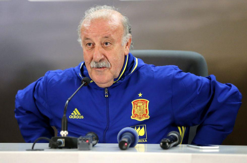 """Vicente del Bosque: """"Estoy seguro que la Selección Española va a mejorar"""""""