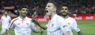 El Sevilla vence al Athletic de Bilbao en los penaltis y mantiene su leyenda europea