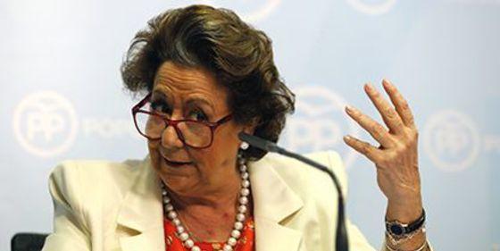El juez pide al Tribunal Supremo que impute a Rita Barberá por blanqueo de capitales