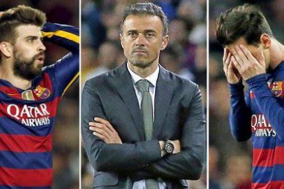 El Barça quedó tocado por la derrota en casa ante el Real Madrid y se 'caga' en la recta final