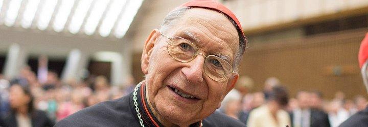 Pésame del Papa por la muerte del cardenal Marie Martin Cottier