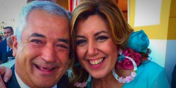 Los selfies con Luis Pineda, el 'capo' de la mafia Ausbanc-Manos Limpias, que tienen de los nervios a Susana Díaz